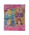 Uitdeel Disney Princess puzzeltjes