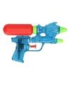 Waterpistool blauw 18 cm